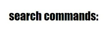 search-commands