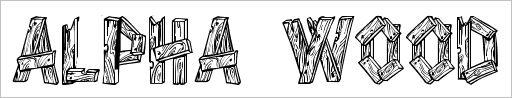 wood-font03