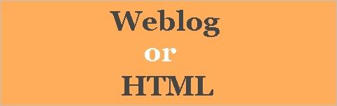 seo/Weblog or html
