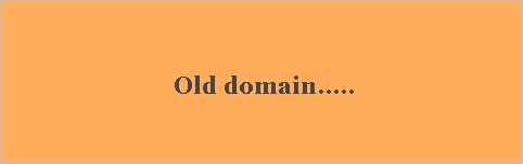 seo/old domain