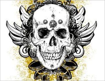 free-skull-vector06