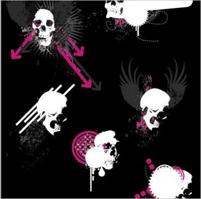 free-skull-vector08