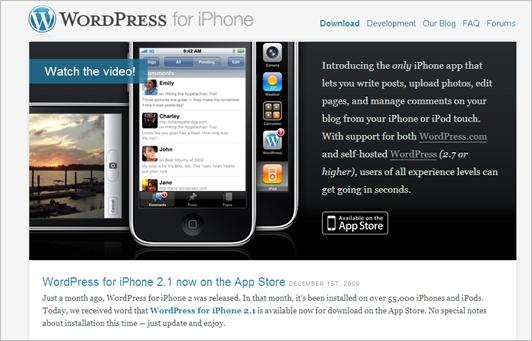 WordPress-for-iphone