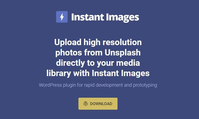 UnsplashからCC0の画像を直接検索し、投稿に含められるWordPressプラグイン・「Instant Images」