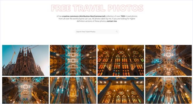 CCライセンスで商用でも無料で使える旅行専門のストックフォト・「BucketListly Photos」