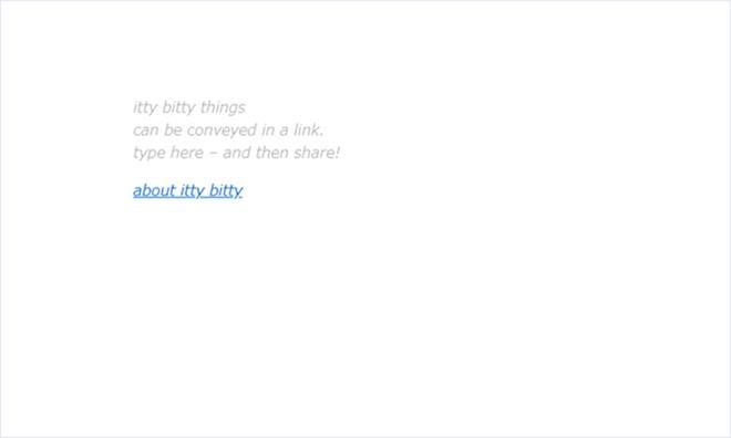 ミニマルなWebサイトやWebアプリを作成できるオープンソースソフトウェア・「Itty.bitty」