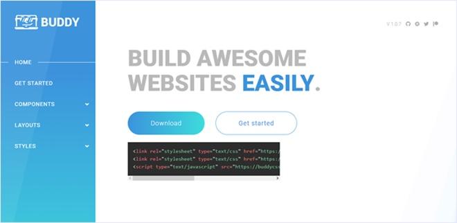 Webサイト開発スピードをサポートするモダンなCSSフレームワーク・「BuddyCSS」