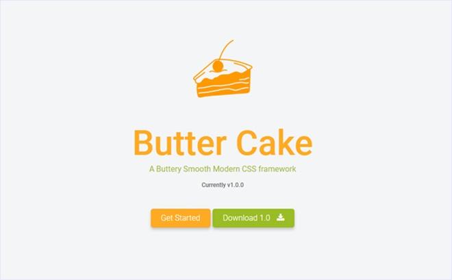 FlexboxベースのモバイルファーストなCSSフレームワーク・「Butter Cake」