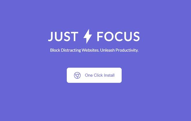任意のWebサイトへのアクセスを不可にするChromeエクステンション・「Just Focus」