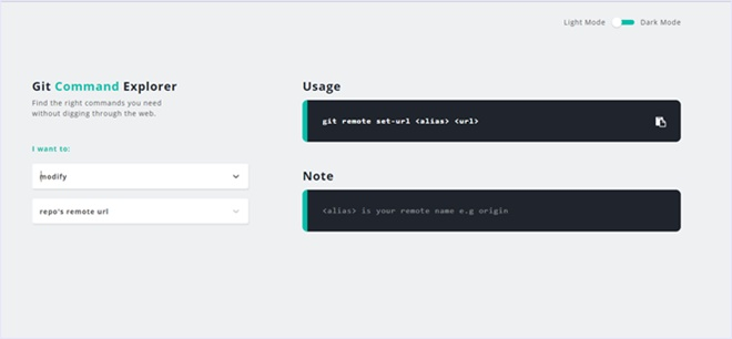Gitコマンドを目的から調べられるシンプルなサービス・「Git Explorer」