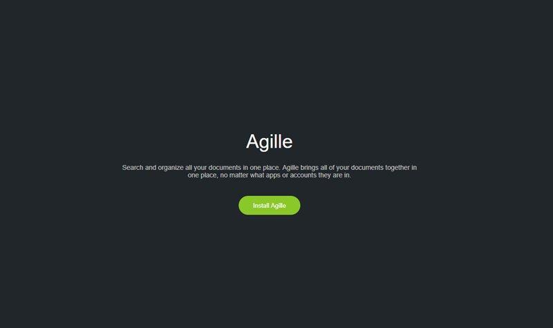 Google DriveやSlack、Trello、Dropbpxなどのドキュメントやファイル、タスクなどを横断検索できるブラウザ拡張・「Agille」