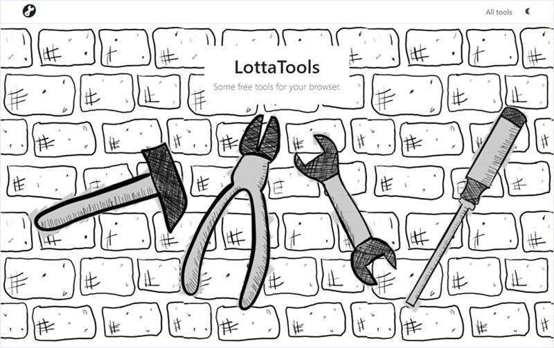 PDFをブラウザでいろいろ操作できるシンプルなWebアプリのセット・「LottaTools」