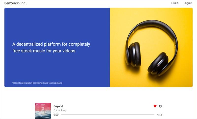 無料で動画作成等に使える音楽を配布するストックミュージックサイト・「BentenSound」