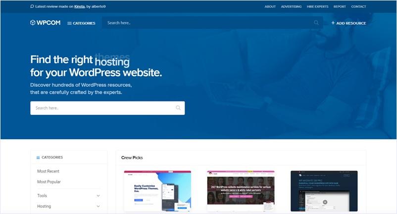 WordPressのより良いツールやリソースを集約しているWP専門のキュレーションサイト・「WPCOM」