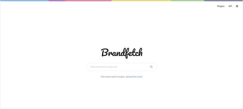任意のキーワードでブランドと、そのロゴやテーマカラーを調べられる検索エンジン・「Brandfetch」