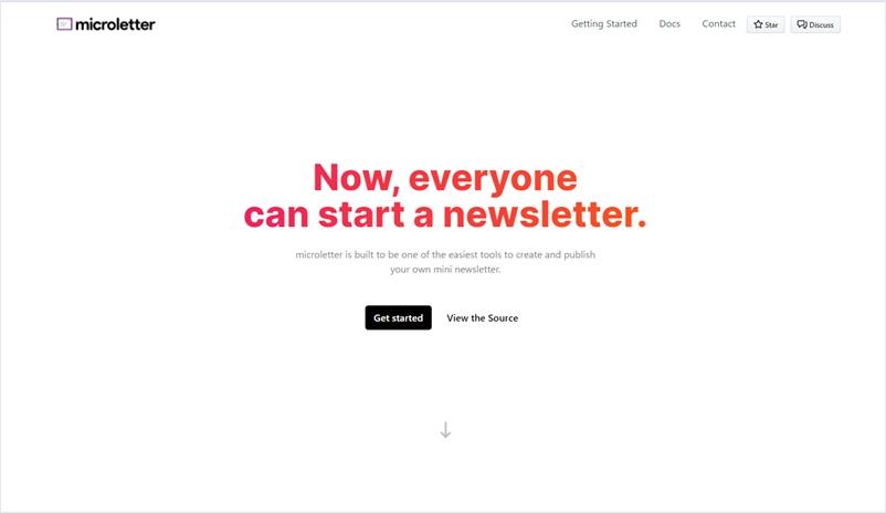オープンソースのシンプルなニュースレター管理ツール・「microletter」