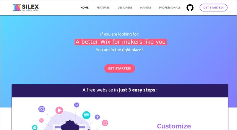 シンプルで使いやすいオープンソースのノーコードWebサイトビルダー・「Silex」